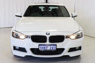 2014 BMW 3 Series F30 MY1114 320d M Sport White 8 Speed Sports Automatic Sedan