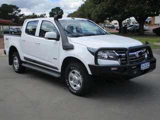 2018 Holden Colorado RG MY18 LS (4x4) White 6 Speed Automatic Dual Cab.