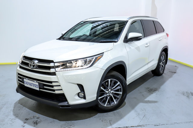 Used Toyota Kluger GSU50R GXL (4x2) Canning Vale, 2017 Toyota Kluger GSU50R GXL (4x2) White 6 Speed Automatic Wagon