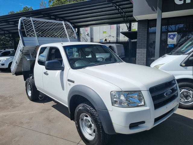 Used Ford Ranger PJ 07 Upgrade XL (4x2) Bankstown, 2008 Ford Ranger PJ 07 Upgrade XL (4x2) White 5 Speed Manual Super Cab Chassis