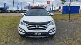 2014 Hyundai Santa Fe DM MY14 Highlander White 6 Speed Sports Automatic Wagon