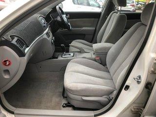 2007 Hyundai Sonata NF White 4 Speed Sequential Auto Sedan