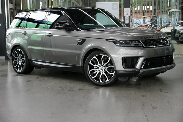 Used Land Rover Range Rover Sport L494 19.5MY SE North Melbourne, 2019 Land Rover Range Rover Sport L494 19.5MY SE Silver 8 Speed Sports Automatic Wagon