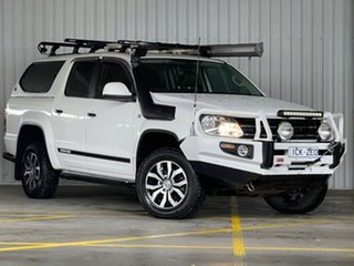 2014 Volkswagen Amarok 2H MY14 TDI420 4MOTION Perm Canyon White 8 Speed Automatic Utility.