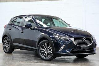 2016 Mazda CX-3 DK4WSA sTouring SKYACTIV-Drive i-ACTIV AWD Blue 6 Speed Sports Automatic Wagon.