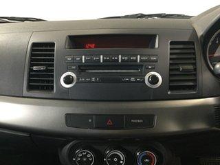 2011 Mitsubishi Lancer CJ MY12 ES Orange 6 Speed Constant Variable Sedan