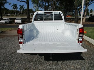 2018 Isuzu D-MAX MY17 SX 4x2 High Ride White 6 Speed Sports Automatic Cab Chassis