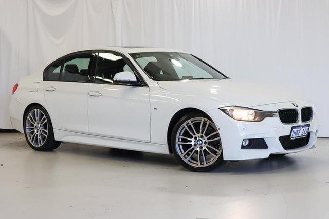 Used BMW 3 Series F30 MY1114 320d M Sport Wangara, 2014 BMW 3 Series F30 MY1114 320d M Sport White 8 Speed Sports Automatic Sedan