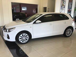 2018 Hyundai i30 PD MY19 Go White 6 Speed Sports Automatic Hatchback.