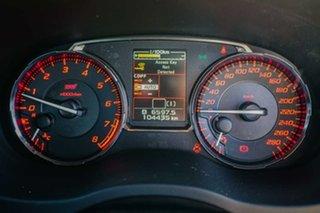 2014 Subaru WRX V1 MY15 STI AWD White 6 Speed Manual Sedan