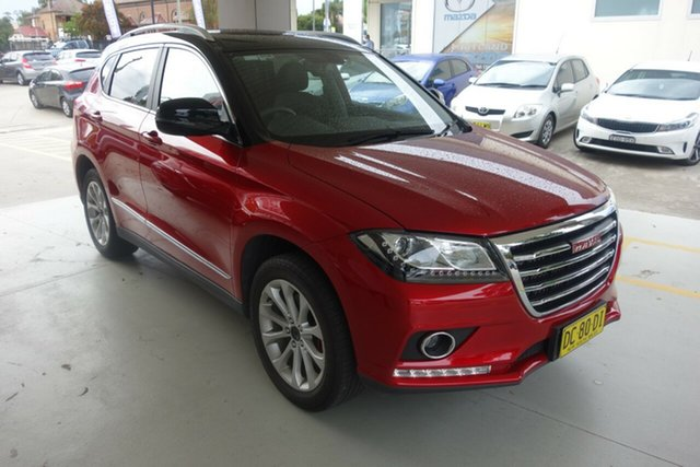 Used Haval H2 Lux 2WD East Maitland, 2018 Haval H2 Lux 2WD Red 6 Speed Sports Automatic Wagon