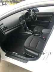 2017 Hyundai Elantra AD MY18 Active Polar White 6 Speed Sports Automatic Sedan