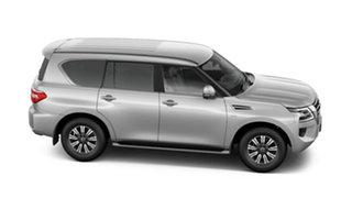 2021 Nissan Patrol Y62 MY21 TI Brilliant Silver 7 Speed Sports Automatic Wagon