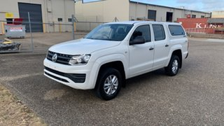 2019 Volkswagen Amarok 2H MY19 TDI420 Core Edition (4x4) White 8 Speed Automatic Dual Cab Chassis