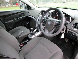 2013 Holden Cruze JH MY13 CD Equipe Silver 5 Speed Manual Hatchback