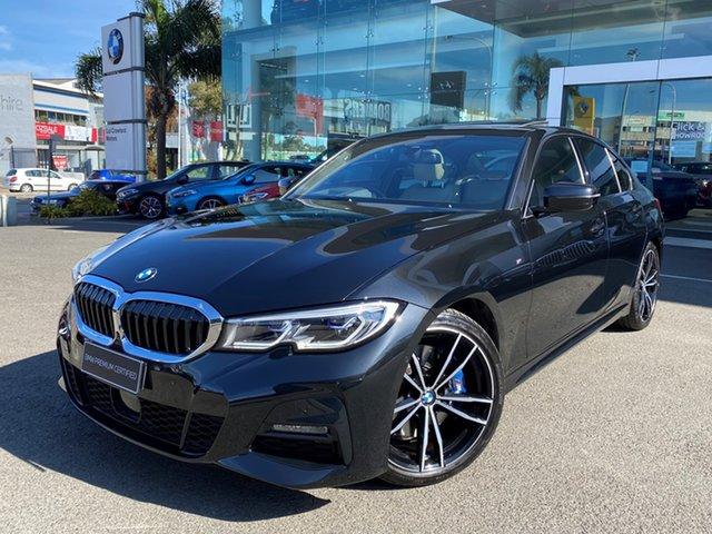 Used BMW 330i F30 LCI M Sport Brookvale, 2020 BMW 330i F30 LCI M Sport Black Sapphire 8 Speed Auto Steptronic Sport Sedan