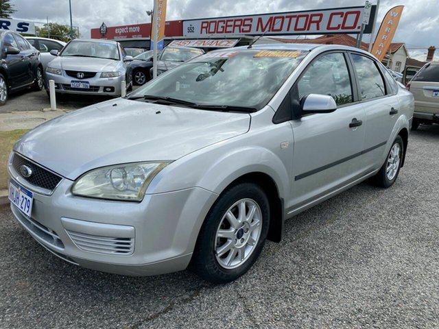 Used Ford Focus LS CL Victoria Park, 2006 Ford Focus LS CL Silver 4 Speed Automatic Sedan