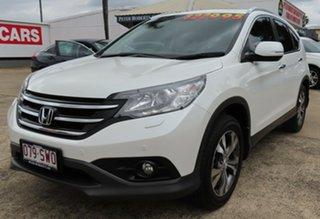 2013 Honda CR-V 30 VTi-L (4x4) White 5 Speed Automatic Wagon