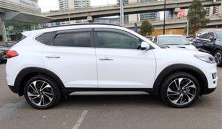 2018 Hyundai Tucson TL3 MY19 Highlander AWD White Pearl 8 Speed Sports Automatic Wagon