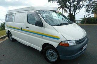 2000 Toyota HiAce SBV RCH22R LWB White 5 Speed Manual Van.