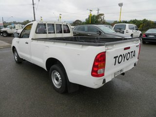 2007 Toyota Hilux GGN15R 06 Upgrade SR White 5 Speed Automatic Pickup