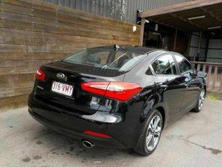 2015 Kia Cerato YD MY15 SLi Black 6 Speed Sports Automatic Sedan