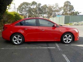 2011 Holden Cruze JH SRi V Red 6 Speed Automatic Sedan
