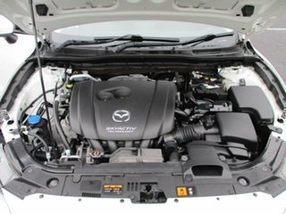 2013 Mazda 3 BM Neo White Pearl 6 Speed Automatic Sedan