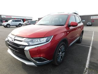 2018 Mitsubishi Outlander ZL MY18.5 ES AWD Red 6 Speed Constant Variable Wagon.