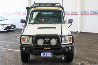 2008 Toyota Landcruiser VDJ79R Workmate (4x4) French Vanilla 5 Speed Manual Cab Chassis