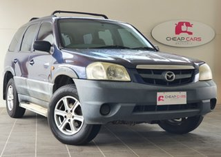 2001 Mazda Tribute Limited Blue 4 Speed Automatic Wagon.