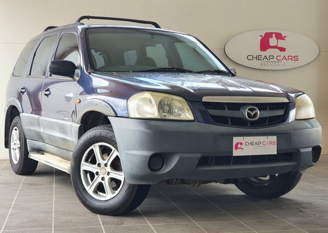 Used Mazda Tribute Limited Brendale, 2001 Mazda Tribute Limited Blue 4 Speed Automatic Wagon
