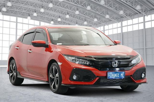 Used Honda Civic 10th Gen MY18 RS Victoria Park, 2018 Honda Civic 10th Gen MY18 RS Red 1 Speed Constant Variable Hatchback