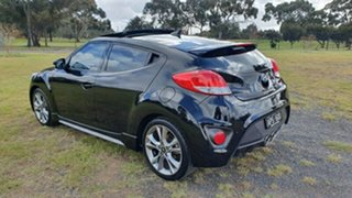 2017 Hyundai Veloster FS5 Series II SR Coupe D-CT Turbo Black 7 Speed Sports Automatic Dual Clutch