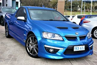 2010 Holden Special Vehicles Maloo E Series 2 GXP Blue 6 Speed Manual Utility.