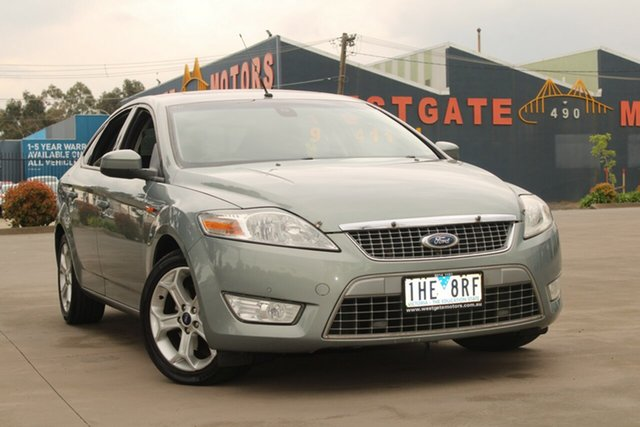 Used Ford Mondeo MA TDCi West Footscray, 2009 Ford Mondeo MA TDCi Green 6 Speed Automatic Hatchback
