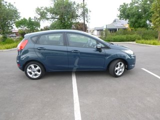 2009 Ford Fiesta WS LX Blue 4 Speed Automatic Hatchback.