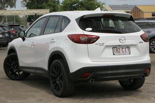 2016 Mazda CX-5 KE1022 Grand Touring SKYACTIV-Drive AWD Crystal White Pearl 6 Speed Sports Automatic.
