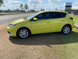 2017 Toyota Corolla ZRE182R Ascent Sport S-CVT Green 7 Speed Constant Variable Hatchback