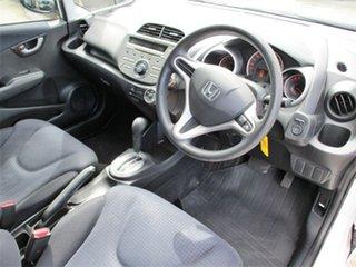 2008 Honda Jazz GD GLi White 1 Speed Constant Variable Hatchback.