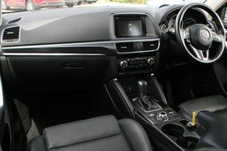 2016 Mazda CX-5 KE1022 Grand Touring SKYACTIV-Drive AWD Crystal White Pearl 6 Speed Sports Automatic