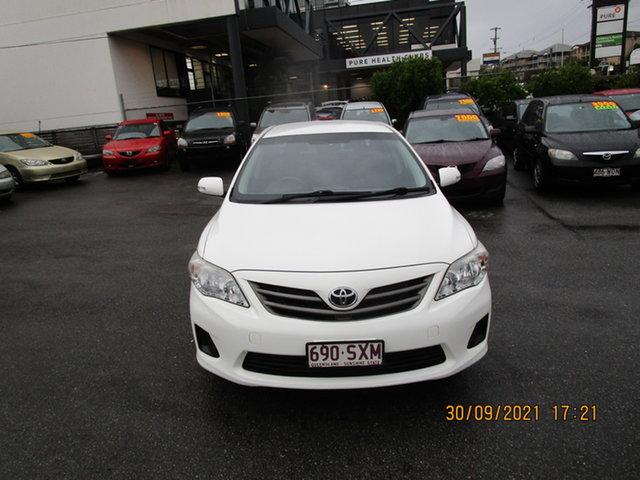 Used Toyota Corolla ZRE152R MY11 Ascent Coorparoo, 2013 Toyota Corolla ZRE152R MY11 Ascent White 4 Speed Automatic Sedan