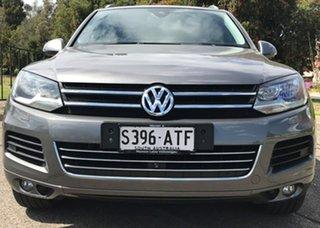 2012 Volkswagen Touareg 7P MY12.5 V6 TDI Tiptronic 4MOTION Grey 8 Speed Sports Automatic Wagon.