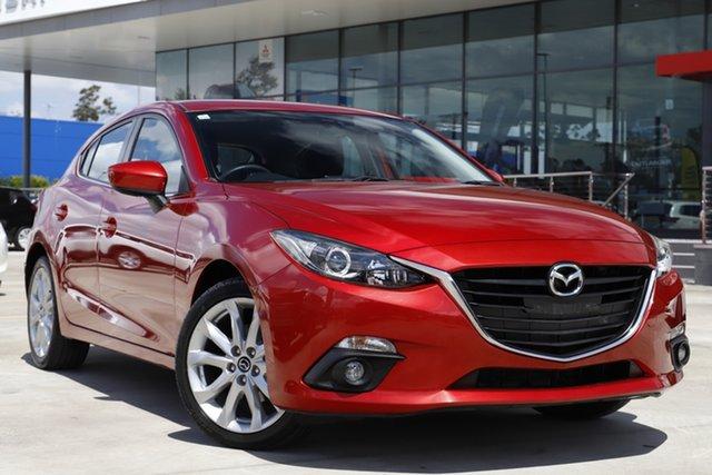Used Mazda 3 BL10L2 MY13 SP25 Aspley, 2013 Mazda 3 BL10L2 MY13 SP25 Red 6 Speed Manual Hatchback