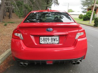 2014 Subaru WRX V1 MY15 AWD Red 6 Speed Manual Sedan
