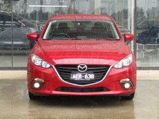 2015 Mazda 3 BM5238 SP25 SKYACTIV-Drive Red 6 Speed Sports Automatic Sedan.
