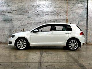 2013 Volkswagen Golf VII 110TDI DSG Highline White 6 Speed Sports Automatic Dual Clutch Hatchback