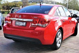 2011 Holden Cruze JH Series II MY11 SRi Red 6 Speed Manual Sedan