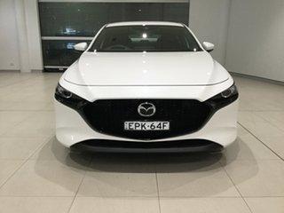2020 Mazda 3 BP2HL6 G25 SKYACTIV-MT Evolve Snowflake White 6 Speed Manual Hatchback