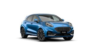 2020 Ford Puma JK 2021.25MY ST-Line V Blue 7 Speed Sports Automatic Dual Clutch Wagon